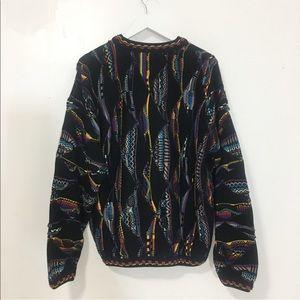 Tundra Sweaters - Used/ coogi vibe rainbow sweater